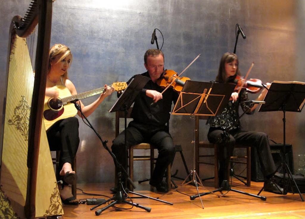 Elena Aker, arpista. Concierto de Arpa y Guitarra 4