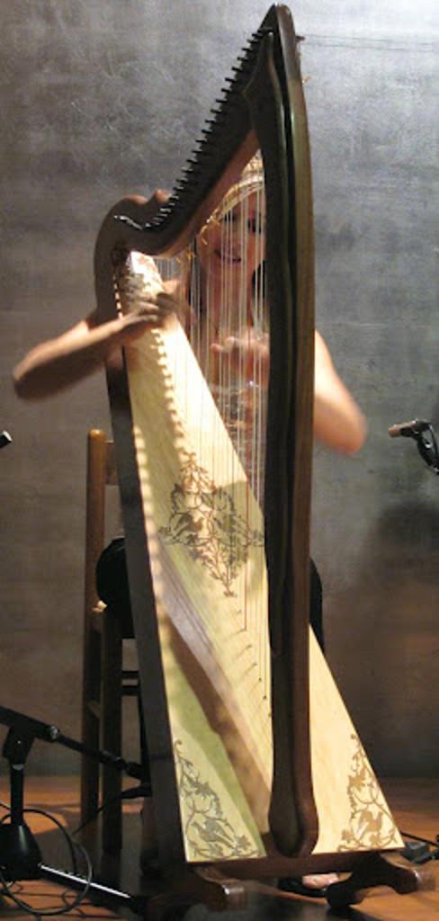 Elena Aker, arpista. Concierto de Arpa y Guitarra 6